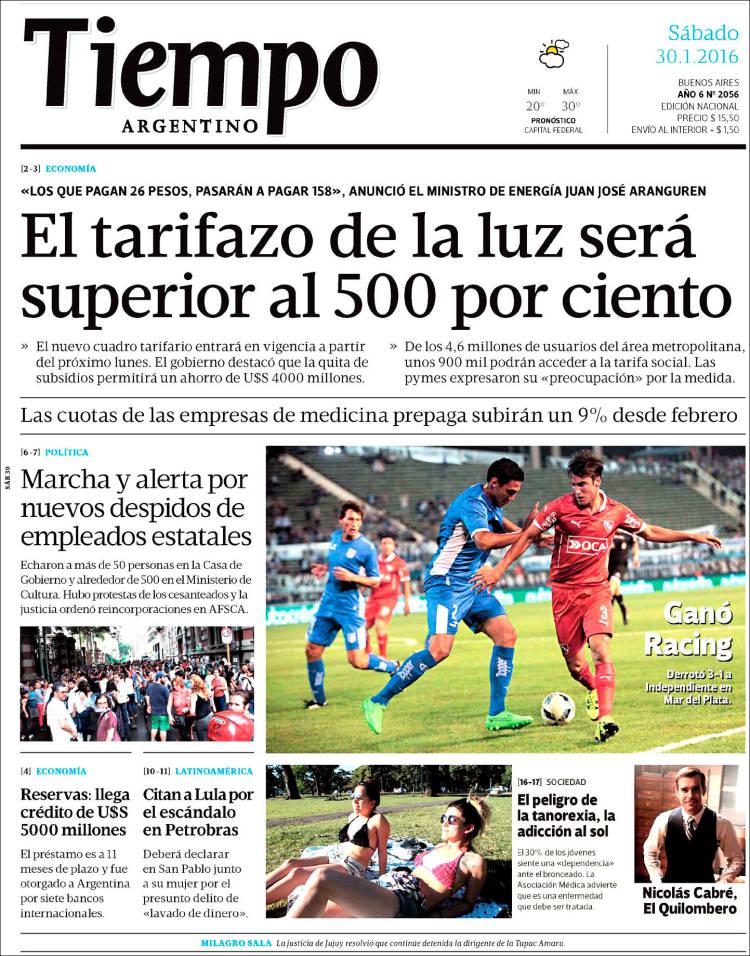 diarios argentinos portadas del dia 07 07 2018 sitio